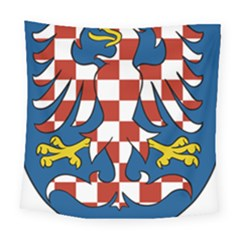 Moravia Coat of Arms  Square Tapestry (Large)