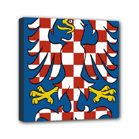 Flag of Moravia  Mini Canvas 6  x 6