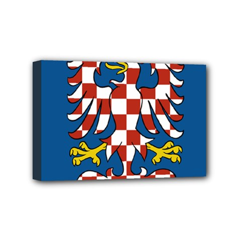 Flag of Moravia  Mini Canvas 6  x 4