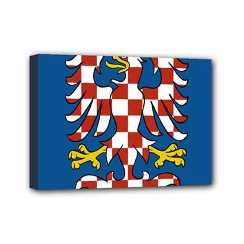 Flag of Moravia  Mini Canvas 7  x 5