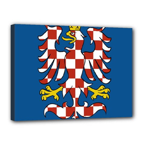 Flag of Moravia  Canvas 16  x 12
