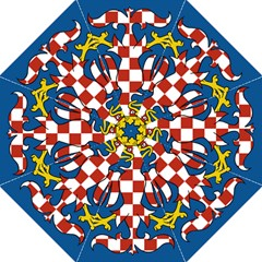 Flag of Moravia  Folding Umbrellas