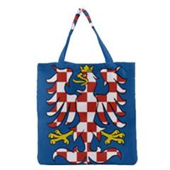 Flag of Moravia  Grocery Tote Bag