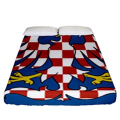 Flag of Moravia  Fitted Sheet (California King Size)