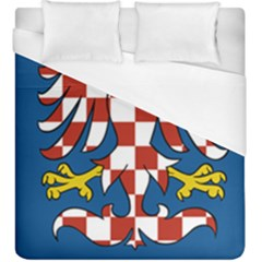 Flag of Moravia  Duvet Cover (King Size)