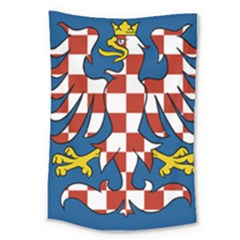 Flag of Moravia  Large Tapestry