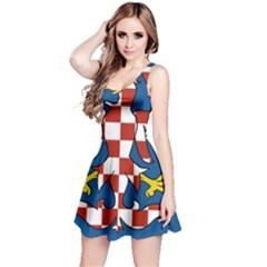 Flag of Moravia Reversible Sleeveless Dress