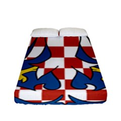 Flag of Moravia Fitted Sheet (Full/ Double Size)