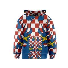 Flag of Moravia Kids  Pullover Hoodie