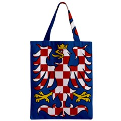 Flag of Moravia Zipper Classic Tote Bag