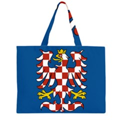 Flag of Moravia Large Tote Bag
