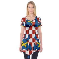 Flag of Moravia Short Sleeve Tunic