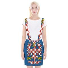 Flag of Moravia Suspender Skirt