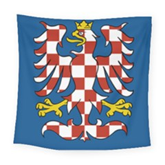 Flag of Moravia Square Tapestry (Large)