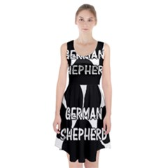German Shepherd Paw Name Racerback Midi Dress