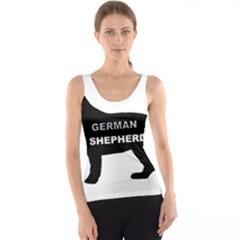 German Shepherd Name Silo Tank Top