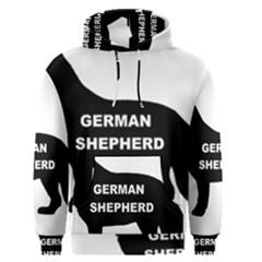 German Shepherd Name Silo Men s Pullover Hoodie