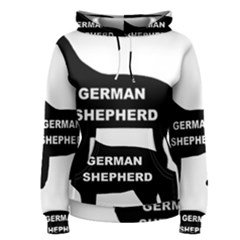 German Shepherd Name Silo Women s Pullover Hoodie