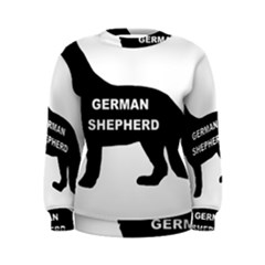 German Shepherd Name Silo Women s Sweatshirt