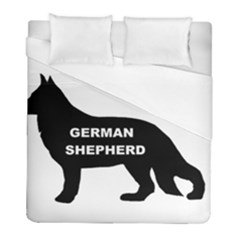 German Shepherd Name Silo Duvet Cover (Full/ Double Size)