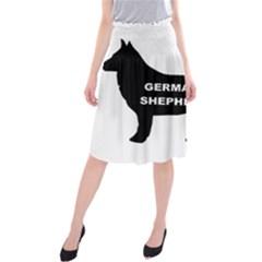 German Shepherd Name Silo Midi Beach Skirt