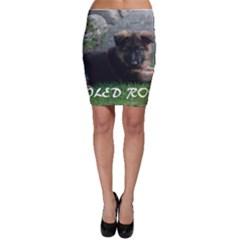Spoiled Rotten German Shepherd Bodycon Skirt