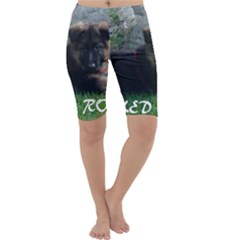 Spoiled Rotten German Shepherd Cropped Leggings