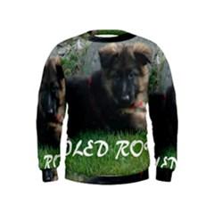 Spoiled Rotten German Shepherd Kids  Sweatshirt