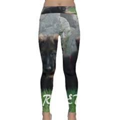 Spoiled Rotten German Shepherd Classic Yoga Leggings