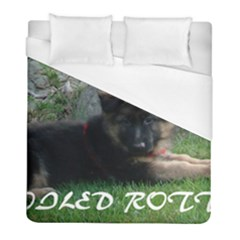 Spoiled Rotten German Shepherd Duvet Cover (Full/ Double Size)