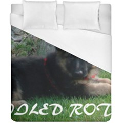 Spoiled Rotten German Shepherd Duvet Cover (California King Size)