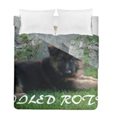 Spoiled Rotten German Shepherd Duvet Cover Double Side (Full/ Double Size)