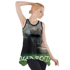 Spoiled Rotten German Shepherd Side Drop Tank Tunic