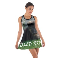 Spoiled Rotten German Shepherd Cotton Racerback Dress