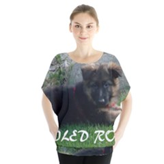 Spoiled Rotten German Shepherd Blouse