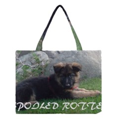 Spoiled Rotten German Shepherd Medium Tote Bag