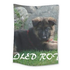 Spoiled Rotten German Shepherd Medium Tapestry