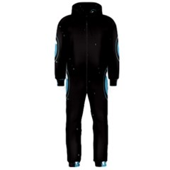Earth Universe Natural Space Galaxy Hooded Jumpsuit (Men)
