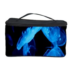 Jellyfish Sea Beack Water Blue Cosmetic Storage Case