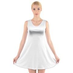 Cherry Fusion 0211002022 V Neck Sleeveless Dress