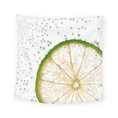 Lime Square Tapestry (small)