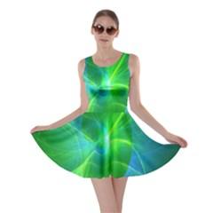 Line Green Light Skater Dress