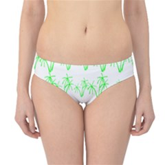 Palm Tree Coconute Green Sea Hipster Bikini Bottoms