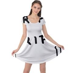 Rip Cap Sleeve Dresses