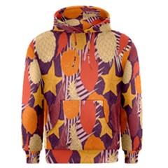 Tropical Mangis Pineapple Fruit Tailings Men s Pullover Hoodie