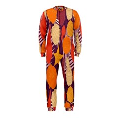 Tropical Mangis Pineapple Fruit Tailings OnePiece Jumpsuit (Kids)