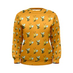 Wasp Bee Hanny Yellow Fly Animals Women s Sweatshirt