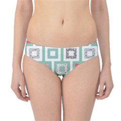 Foto Frame Cats Quilt Pattern View Collection Fish Animals Hipster Bikini Bottoms