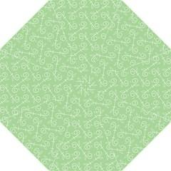 Formula Leaf Floral Green Folding Umbrellas