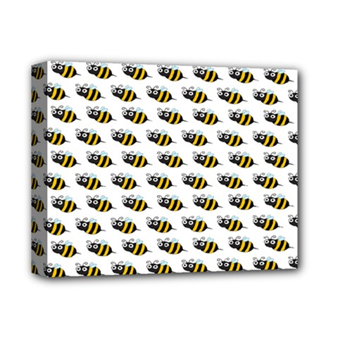 Wasp Bee Eye Fly Line Animals Deluxe Canvas 14  x 11